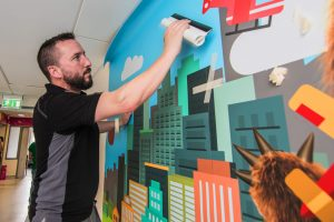 Wall Graphic Vinyls and Applications